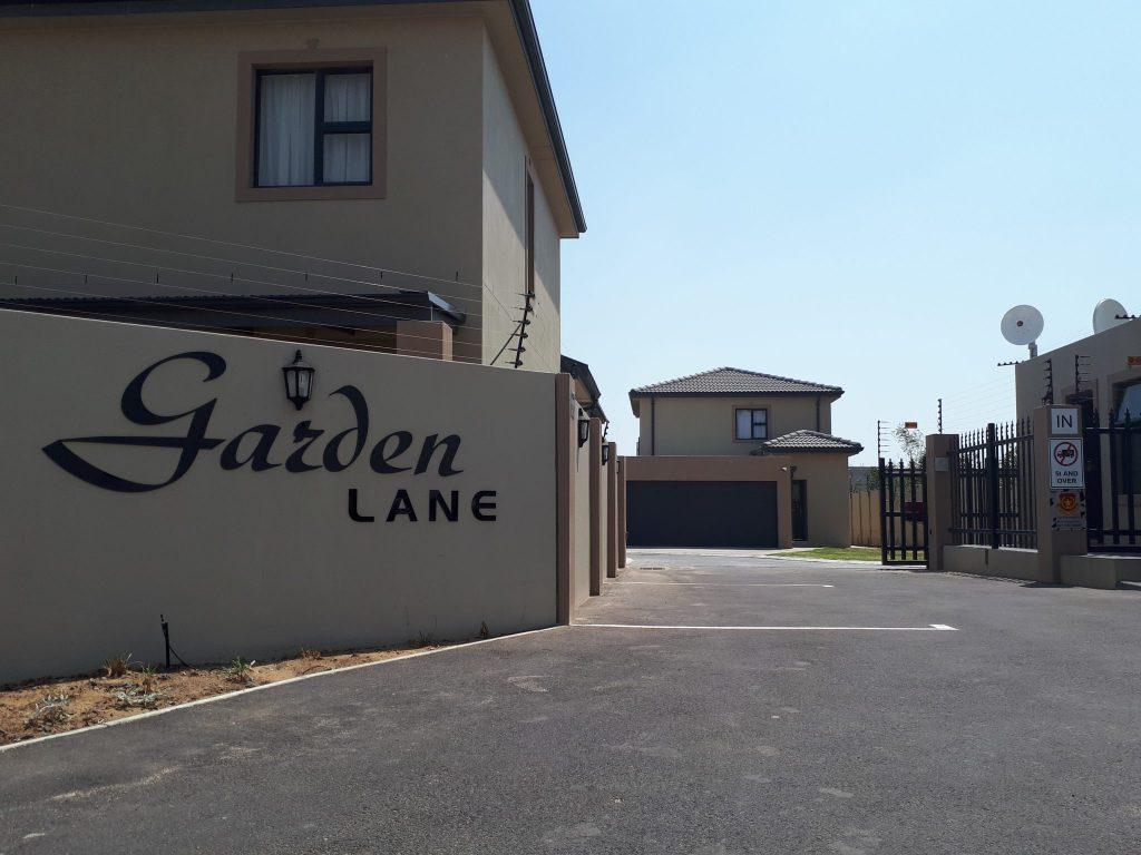 garden lane project